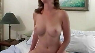 Natural Solo Ginger MILF Absolutely not her Best Toy