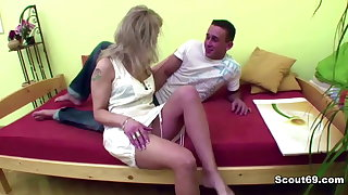 Taboo Milf Step-Mom Seduce Step-Son to fuck her ass