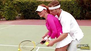 audrey hollander hot sex with tennis coach