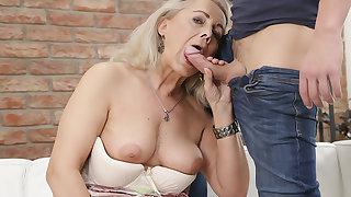 Granny Fucked My Girlfriend #04!!