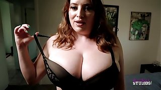 Thick Step Mom with Huge Tits Catches Me Unsustained Retire from - Maggie Green