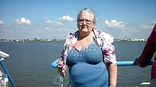 ILoveGrannY Amateur Naked Pictures Pre-empted Outdoor