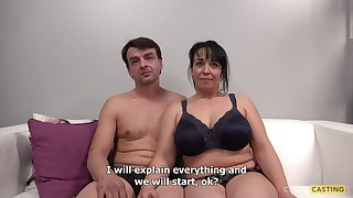 Full-Bosomed Mother Gets Non-standard At Someone's skin Casting