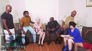 MY essayist brought my cousins and i back fuck two white cougars  (Christina safire , seka blac ,Mr. nutts ,Wayne wood ,Jonathan jordan , Ralph horn , handsomedevan, neal stroker)
