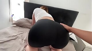 I abused be required of my hot stepmom while she was stuck in her bed (creampie)