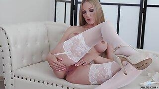Video be worthwhile for nice tits blondie Cam Angel pleasuring her cravings
