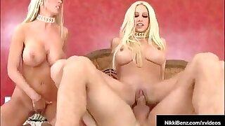 Busty Bazaar Bombshells Nikki Benz & Puma Swede Fuck A Dick!