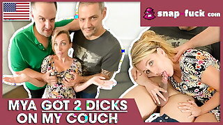 Cute MILF Mya Lorenn is a DP fuck doll! Snap-fuck.com
