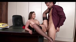 Ass Fucking Sex In The Office With A Gorgeous Agony aunt
